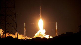 SES-8 - The launch of Falcon 9 v1.1 with SES-8 from Cape Canaveral on 3 December 2013.