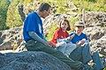 Family Eating Lunch at Lava Canyon-Gifford Pinchot (25829776573).jpg