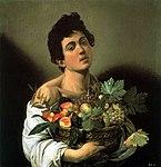 Fanciullo con canestro di frutta (Caravaggio).jpg