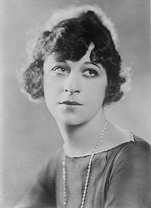 Fanny Brice - Undated publicity photo
