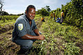 Farm manager Douglas Teaigaln at Tetere Prison Farm, Honiara. Solomon Islands 2007. Photo- Rob Maccoll - AusAID (10694878613).jpg