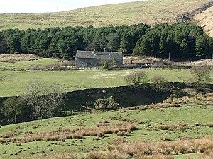Dunnockshaw and Clowbridge - Image: Farmhouse at New Laithe geograph.org.uk 124214