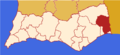Faro district map Portugal CTM.png