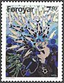 Faroe stamp 310 marmennil - the little merman.jpg