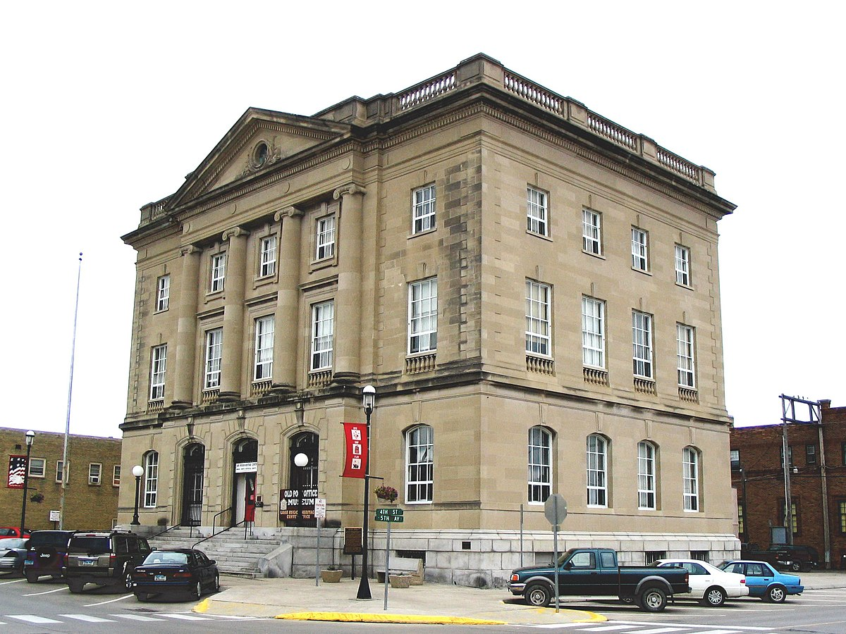United States Post Office and Courthouse (Devils Lake ...