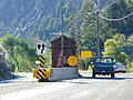 Fee collection booth on eastbound SR-92 American Fork Canyon, Jun 16.jpg