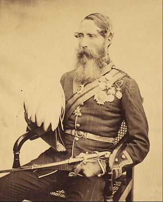 Charles van Straubenzee - Van Straubenzee as brigadier-general in 1860