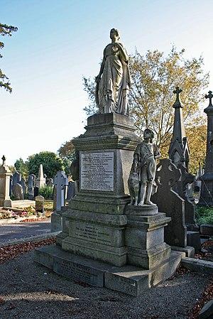 John O'Mahony - Grave of John O'Mahony in the Fenian Plot, Glasnevin, Dublin