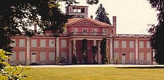 Umkirch - Image: Ferfried Prinz von Hohenzollern Geburtshaus Schloss Umkirch