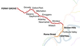 Ferny Grove railway line