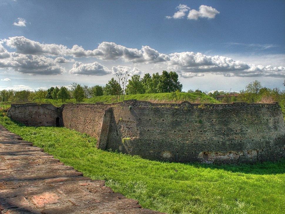 Ferrara walls bastion