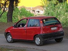 fiat punto i wikip dia. Black Bedroom Furniture Sets. Home Design Ideas