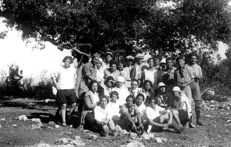 Field trip to Mount Carmel - The Hebrew Reali School, Haifa, 1925 (142)