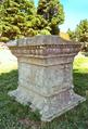 Fiesole - Archäologische Zone - etruskisch-römischer Tempel 3, 2019.png