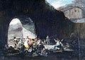 Fiesta popular bajo un puente por Francisco de Goya.jpg