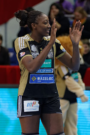 Mariama Signaté - Signaté in the French League Cup final in 2013