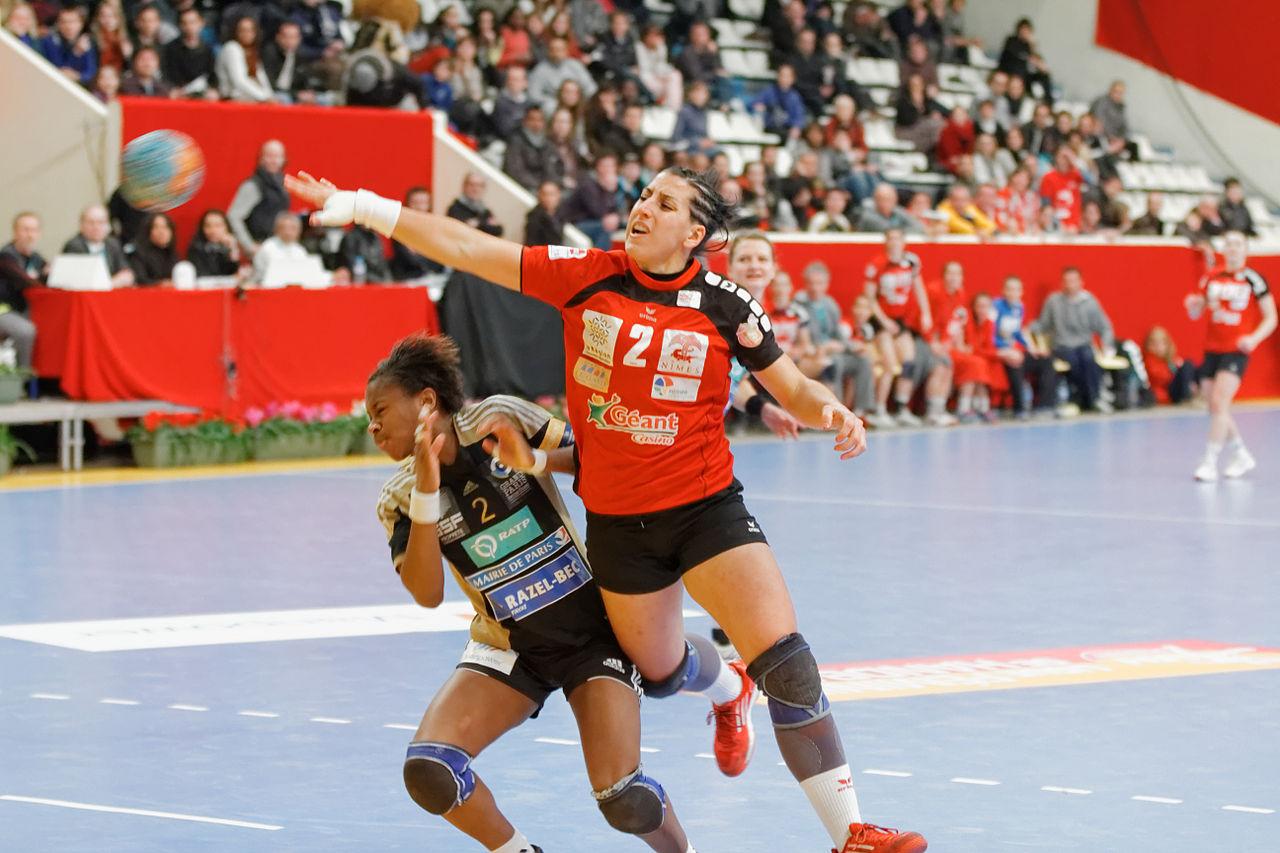 File finale de la coupe de ligue f minine de handball 2013 wikimedia commons - Final de la coupe de la ligue ...