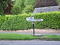 Fingerpost, Winterborne Stickland - geograph.org.uk - 459783.jpg