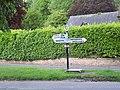 Fingerpost, Winterborne Stickland - geograph.org.uk - 459783.jpg