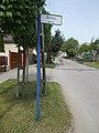 Fingerpost street sign, Kápolna utca, 2018 Paks.jpg