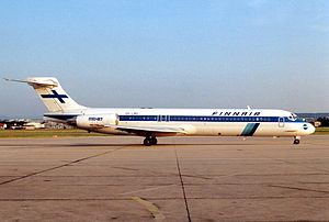 Finnair - Finnair McDonnell Douglas MD-87 in 1991