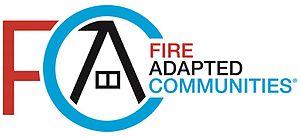 Fire-adapted communities - Fire Adapted Communities logo