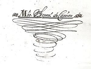 Jerónimo de Carrión - Firma de Jeronimo de Carrión. Fuente: Catedral de Segovia