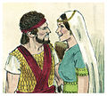 First Book of Samuel Chapter 18-8 (Bible Illustrations by Sweet Media).jpg