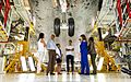 First Family Views Space Shuttle Atlantis.jpg