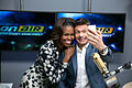 First Lady Michelle Obama and Ryan Seacrest selfie Jan 2014.jpg