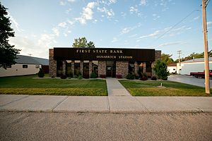 Osnabrock, North Dakota - First State Bank - Osnabrock