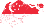 Flag map of Singapore.svg