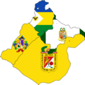 Flag map of provinces of Tacna.png
