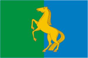 Yermekeyevsky District - Image: Flag of Ermekeevo rayon (Bashkortostan)