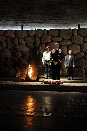 Martin Dempsey - Image: Flickr Israel Defense Forces US CJCS Gen. Martin Dempsey Visits Yad Va Shem (1)