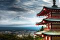 Flickr - Shinrya - Mt Fuji from Chureito Pagoda.jpg