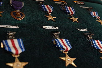 3rd Special Forces Group (United States) - Medals awarded to soldiers of the 3rd SFG(A).