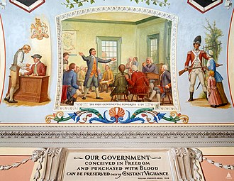First Continental Congress - Image: Flickr US Capitol The First Continental Congress, 1774