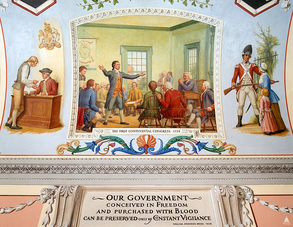 Flickr - USCapitol - The First Continental Congress, 1774