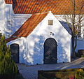 Floeng Kirke Denmark porch.jpg