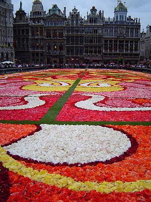 Flower Carpet - Image: Floral Carpet Brussels