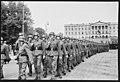 """Fo30141711140075 """"Reservebataljon Holmestrand paraderer for Quisling på Slottsplassen"""" 1942-06-14 (NTBs krigsarkiv, Riksarkivet).jpg"""