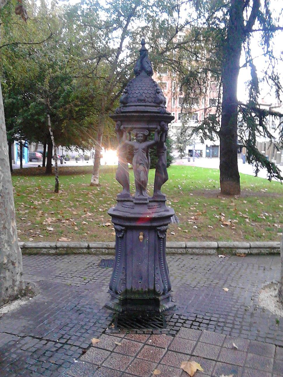 Fonte de Wallace en Vitoria