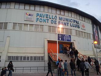Pavelló Municipal Font de San Lluís - Image: Fonteta Sant Lluís