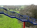 Footbridge at Rail Station, King's Sutton - geograph.org.uk - 1473484.jpg