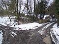 Footpath and byway junction near Dingleden Farm - geograph.org.uk - 1710219.jpg