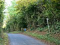 Footpath and minor road near Frampton Mansell - geograph.org.uk - 581056.jpg