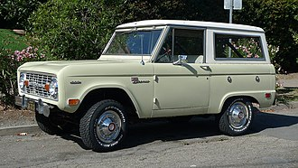 Ford Bronco - Ford Bronco Wagon (First generation)