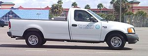 Orlando Police Department - Ford F-150 XL code enforcement vehicle.