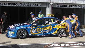 2012 International V8 Supercars Championship - Mark Winterbottom placed third driving a Ford FG Falcon